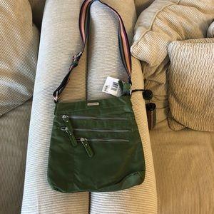 Frank Sarto Waterproof Bag with Umbrella NWT